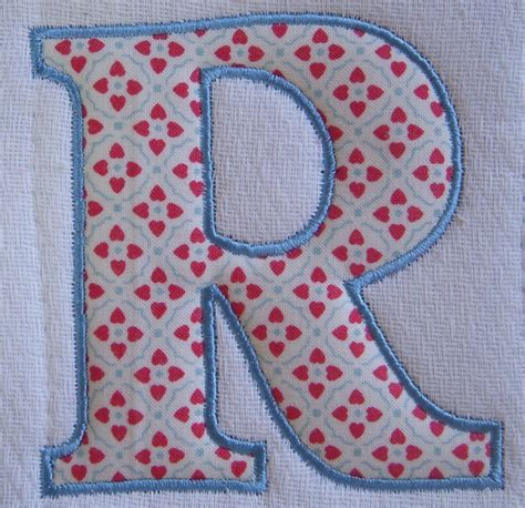 free applique alphabets how to applique