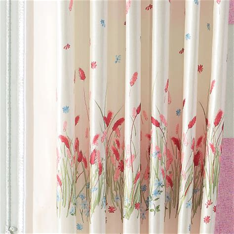 girls floral curtains beautiful printed privacy curtain with floral pattern for