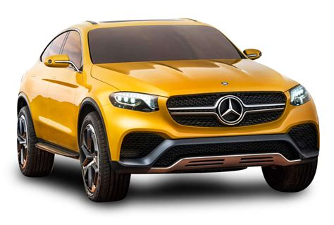 car mercedes png yellow mercedes benz glc coupe car png image pngpix