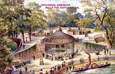 H Maxi Hermain India vue zoological gardens postcards