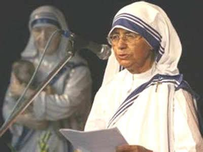 biography of mother teresa in gujarati sister nirmala passes away india news times of india