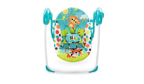 asda baby swing bright starts kaleidoscope safariportable swing baby