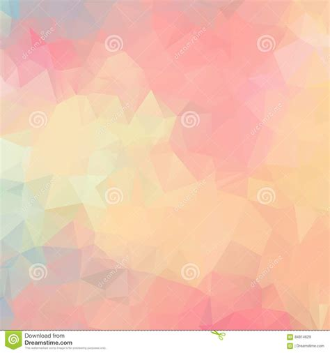 polygonal light pink pattern background illustrator light pink background polygon abstract pattern stock