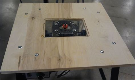 how to build a router table diy routing table 7 steps with pictures