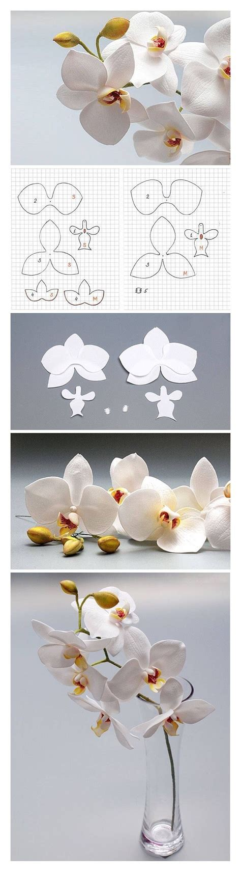 felt orchid pattern pattern orchid by oton franca oliveira pinteres