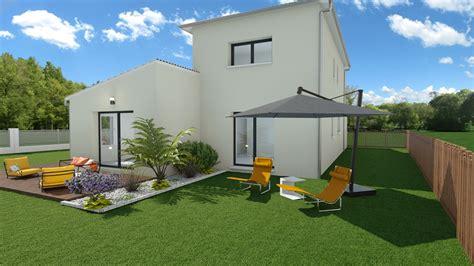 maison moderne  chambres avec garage mtc maisons