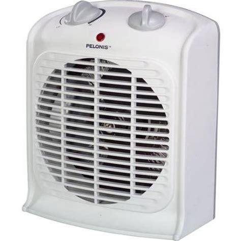 pelonis portable fan heater pelonis fan forced heater with thermostat walmart com