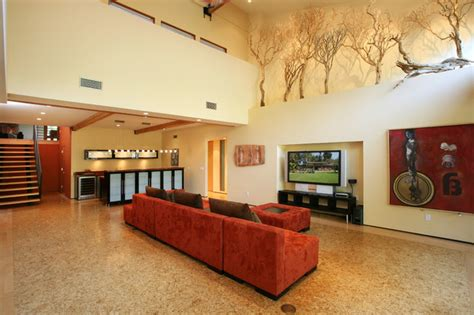 Decorating Ideas For Ledges In Bedroom Living Room Tropical Living Room Orange County By