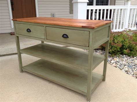 console table kitchen island by tdominator