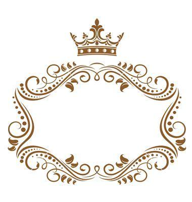 Frame Fotobingkai Fotofigura 16r Black marco coronita marcos royals frames and frame template