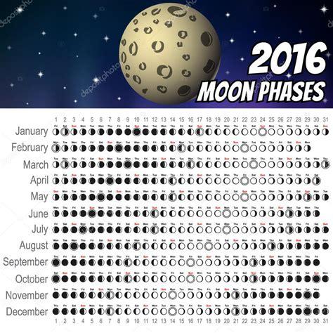 calendario lunar 2016 free de juliaro calendario lunar 2016 vector de stock 169 artoptimum 77452288