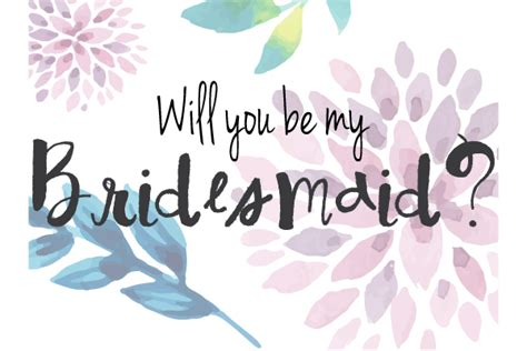 be my bridesmaid card template free watercolor bridesmaid printable free state