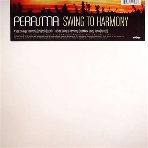 perasma swing to harmony perasma swing 2 harmony gabriel dresden club mix