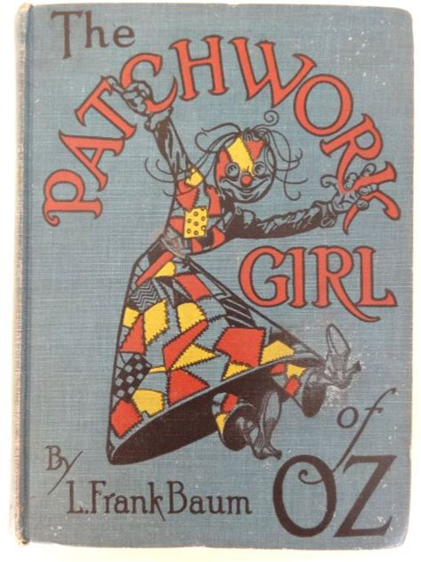 The Patchwork Of Oz - vintage patchwork of oz book 1923 l frank baum book