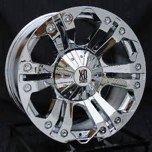 20 In Truck Wheels 20 Inch Chrome Wheels Rims Chevy Gmc 6 Lug 1500