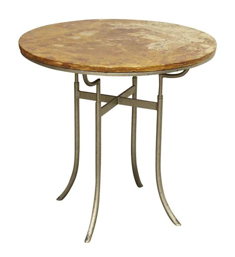 Round Bistro Table Round Wood Top Bistro Table Olde Good Things
