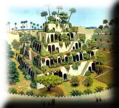 giardini pensili di babilonia flora