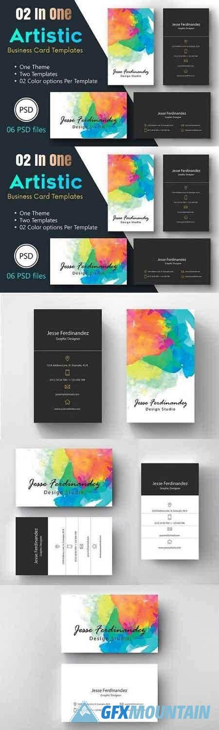 great fx business card template artistic business card template 005 1285865 187 free