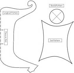 viking longship template viking ship template to make shields to learn about