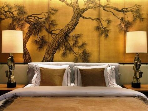 wall paintings in bedroom japanese interior wall painting ideas