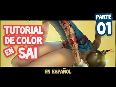 paint tool sai tutorial en español principiantes tutorial en espa 241 ol de paint tool sai