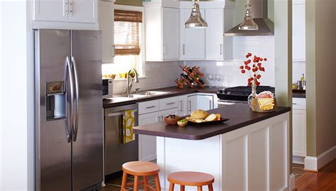 Tiny Kitchen Remodel Ideas Small Budget Kitchen Makeover Ideas