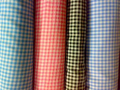 Kain Katun Kotak Hitam Coksu kain cele katun motif kotak kecil toko meru textiles