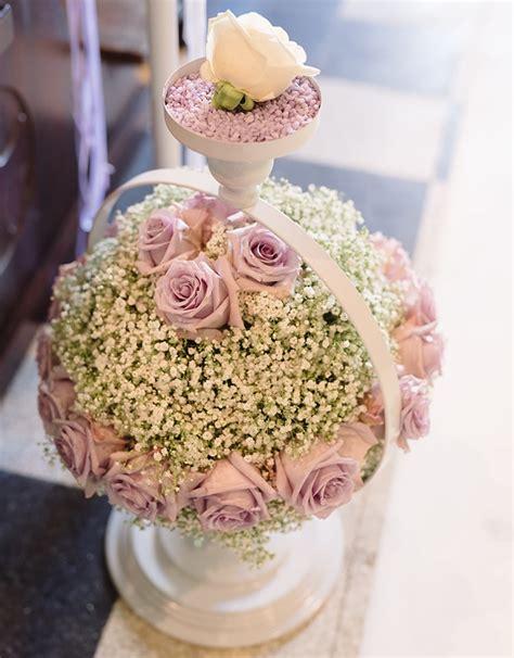 fiori a palla matrimonio color glicine la storia di mattia e sabrina