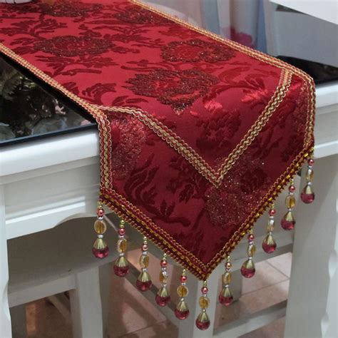 Velvet Table Runner by Top Grade Luxury Imported Velvet Table Runner W Non Slip