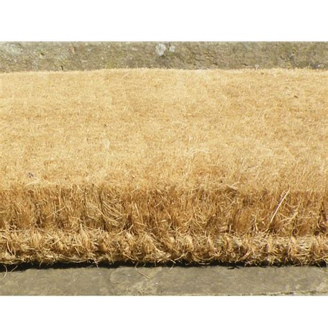 Coir Doormat Thick Heavy Duty Coir Door Mats From Coir Mats Co Uk