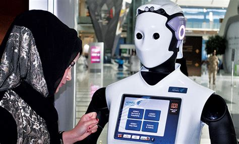 dubai police plan   robots  artificial intelligence