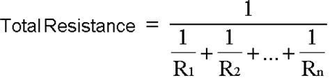 resistance in parallel formula speakers