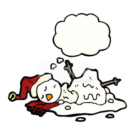 melting snowman cartoon stock photos freeimages.com