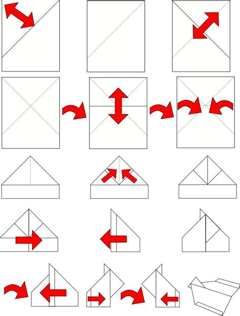 How Do You Make A Glider Paper Airplane - paper airplane glider alle