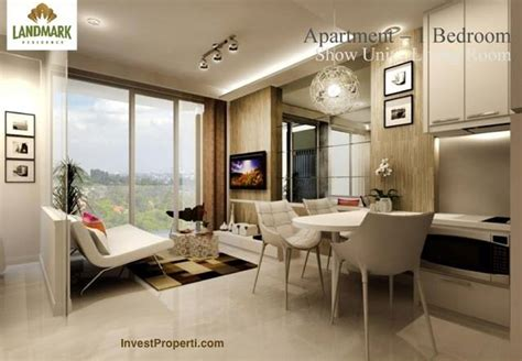 design interior apartemen bandung design living room landmark residence apartemen