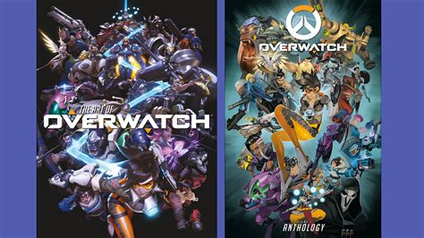 new overwatch art book and anthology details leak egmnow