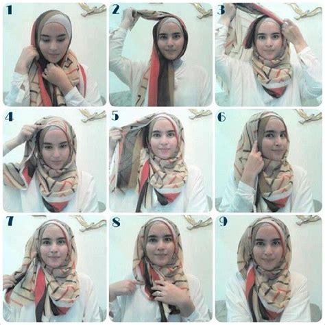 tutorial hijab pesta zahratul jannah 1000 ideas about hijab style tutorial on pinterest