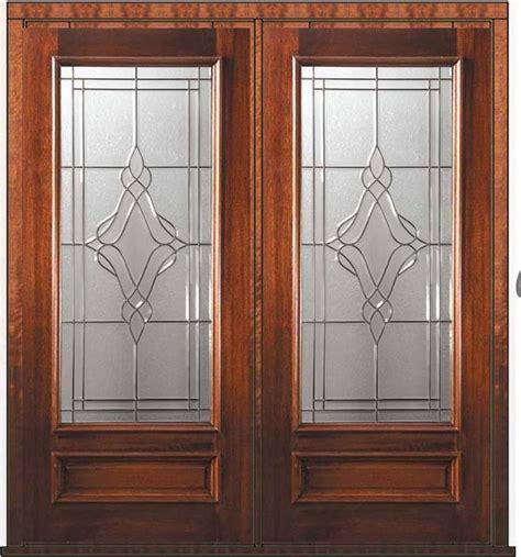 Pre Hung External Double Door 80 Mahogany Heritage 3 4 Pre Hung Exterior Door
