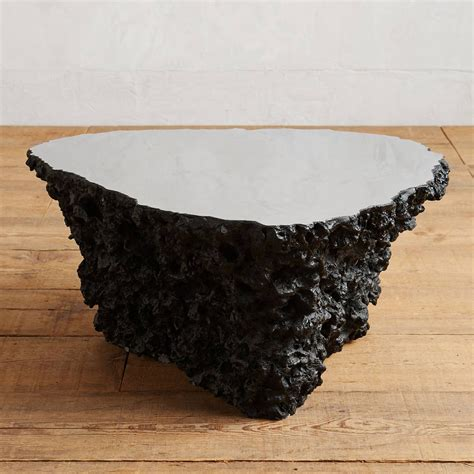 lava stone table top lava stone coffee table the green head