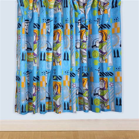 toy story curtains toy story space 66 x 54 curtains new free p p ebay
