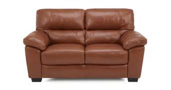 Dfs Leather And Fabric Sofas Dalmore Leather And Leather Look 2 Seater Sofa Brazil With Leather Look Fabric Dfs