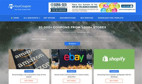 blogger templates for coupons your coupon blogger template