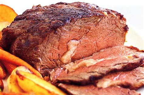 basic roast beef vegetables recipe taste com au