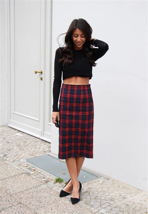skirt style the plaid skirt and its many faces the fashion tag blog