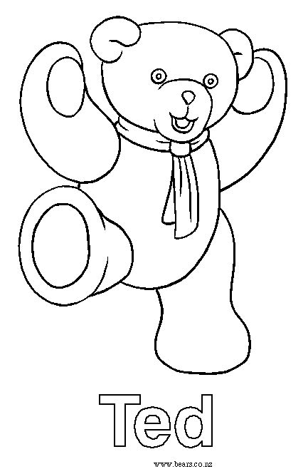 ted coloring book review ted bears coloring in pages
