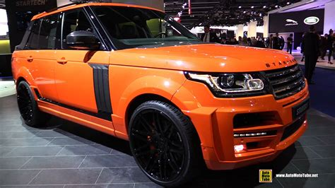 land rover discovery pickup 2016 range rover startech pickup exterior and interior