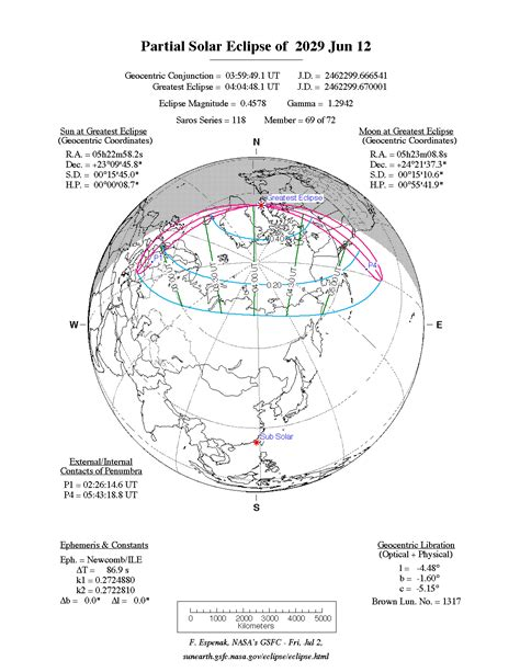 Libya Calendario 2018 Nasa Solar Eclipses 2021 2030