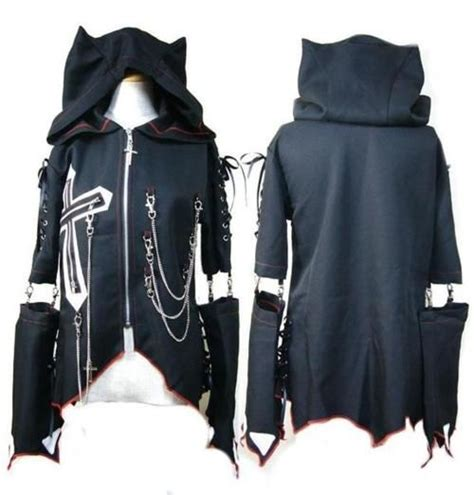 Jkt Jaket Hoodie Cat Meow A Limited Edition visual kei japanese fashion s style beautiful its beautiful and