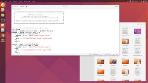unity layout manager gnome layout manager get windows 10 macos or ubuntu look