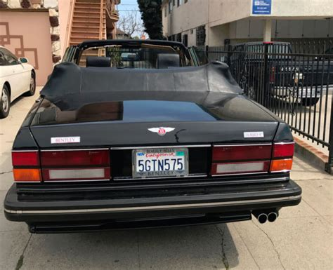 bentley turbo r custom 1990 bentley turbo custom four door convertible for sale